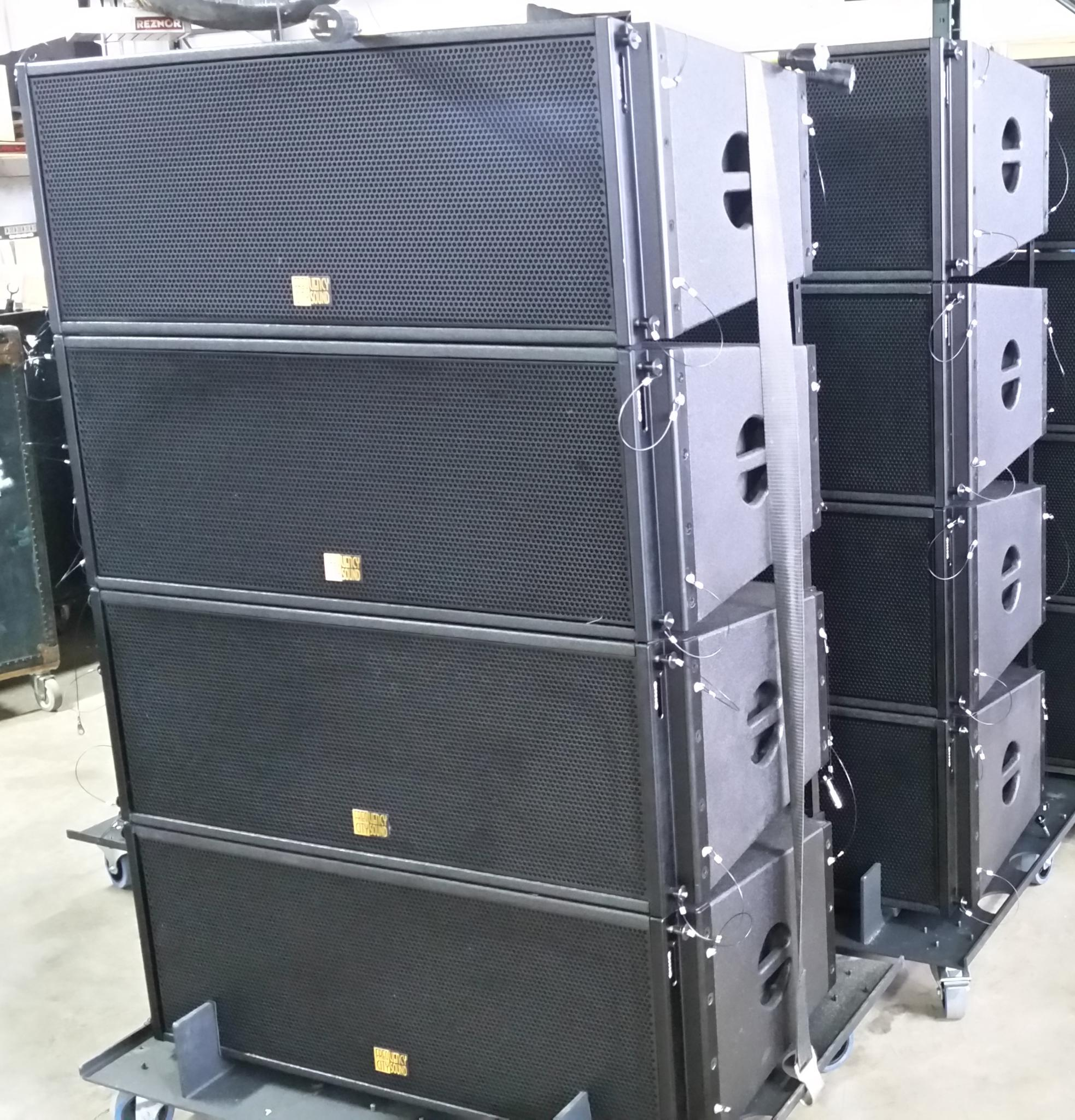 FCS Line Array inventory Cincinnati OH